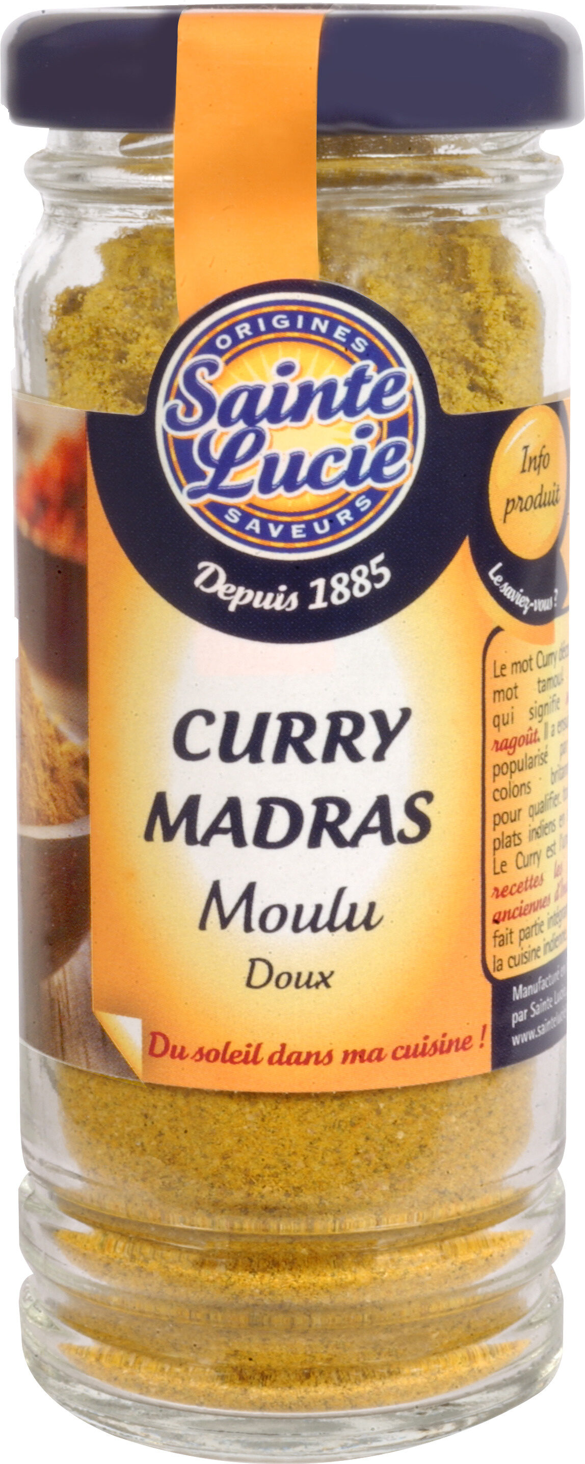 Curry Madras - Produit