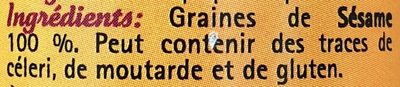 Sésames graines - Ingrediënten - fr