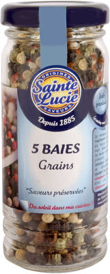 5 baies grains - Product