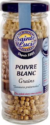 Poivre blanc grains - Product - fr