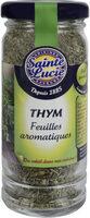 Thym feuilles aromatiques - Produit