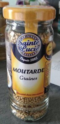 Moutarde graines - Voedingswaarden - fr