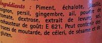 Mélange pour pâtes - Ingrédients - fr