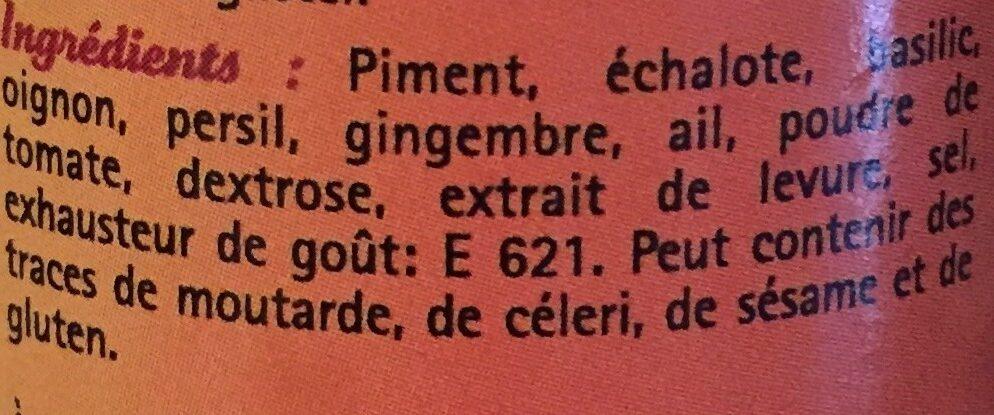 Mélange pour pâtes - Ingrediënten