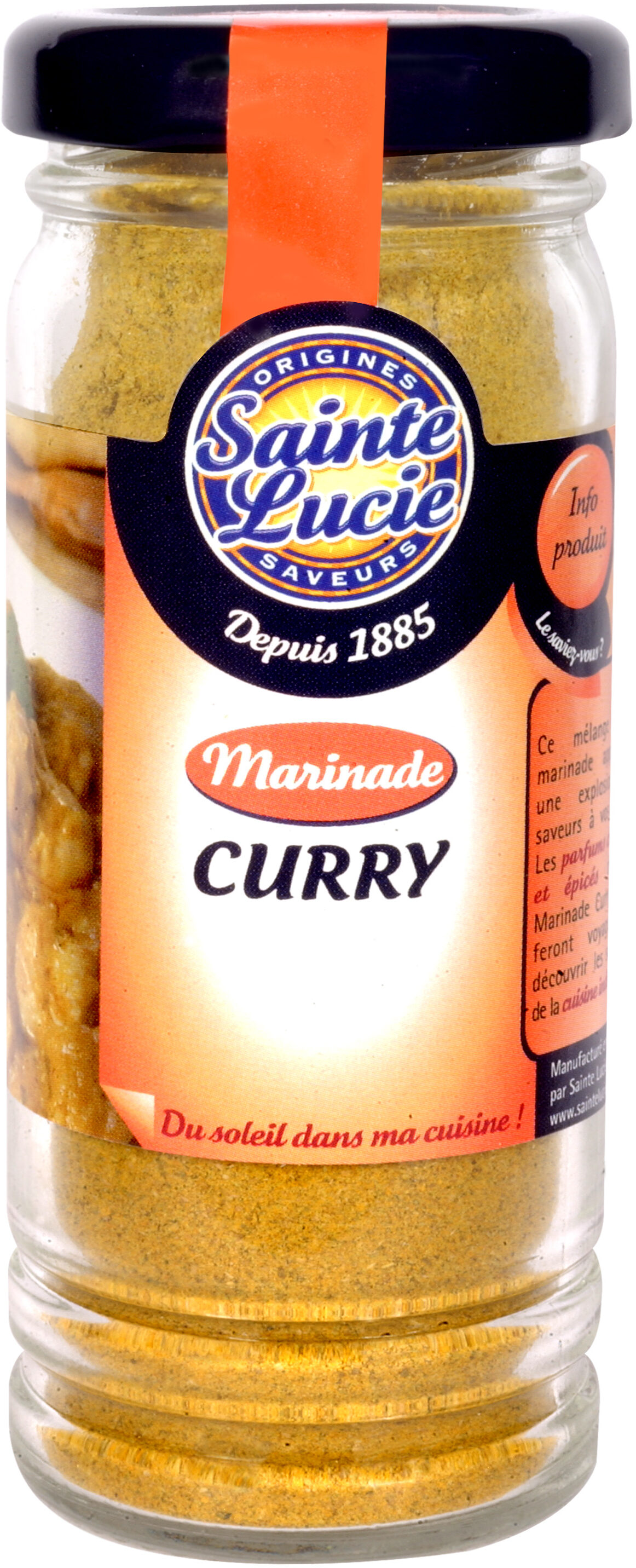 Marinade Curry - Produit