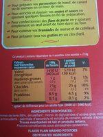 Bonne Purée - Ingredients - fr