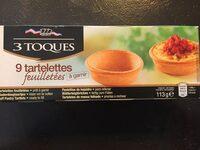 Tartelettes Feuilletees LS 3 Toques X 9 99G - Produit - fr