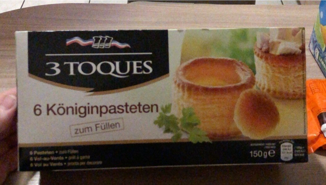 Königinpasteten - Produit - de