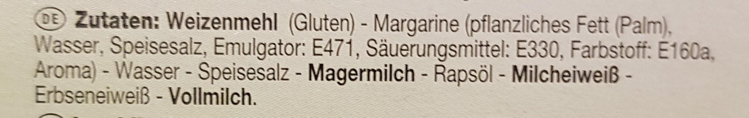 Königinpasteten - Ingrédients - de