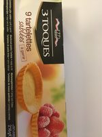 Les 3 Toques Sweet Tartlettes 9 Piece - Product - fr