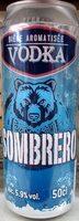 Sombrero bière aromatisée Vodka (5.9%) - Produit - fr