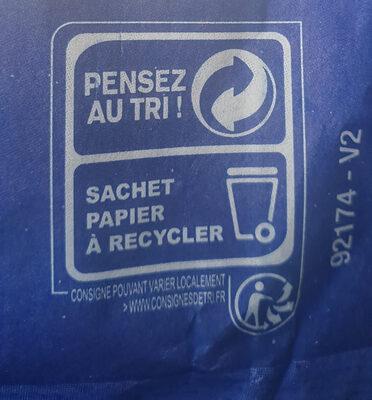 Baguette tradition - Istruzioni per il riciclaggio e/o informazioni sull'imballaggio - fr