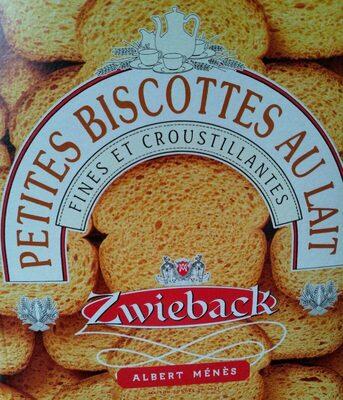 Zwieback - Petites Biscottes Suisses au Lait - Produit - fr