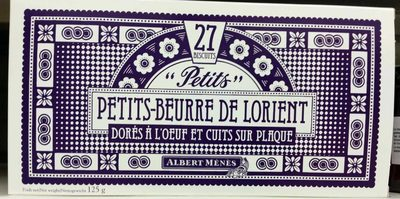 Petits Petits-Beurre de Lorient au Sel de Guérande - Product
