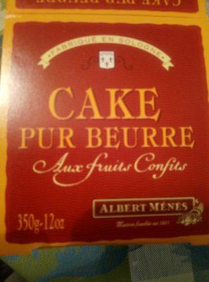 Cake pur beurre aux fruits confits - Produit