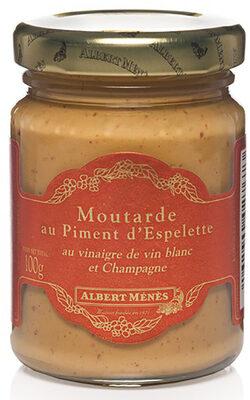 Moutarde au Piment d'Espelette - Produit - fr