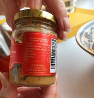 Moutarde au Piment d'Espelette - Informations nutritionnelles - fr