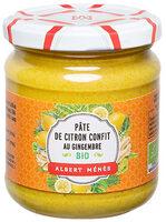 BIO Pâte de Citron Confit au Gingembre - Produit - fr