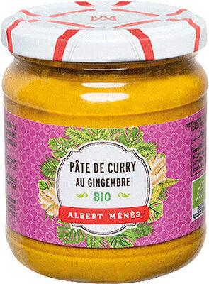 BIO Pâte de Curry au Gingembre - Produit