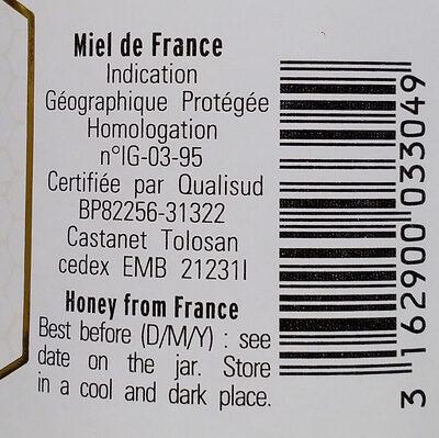Miel de lavande de Provence - Ingrédients