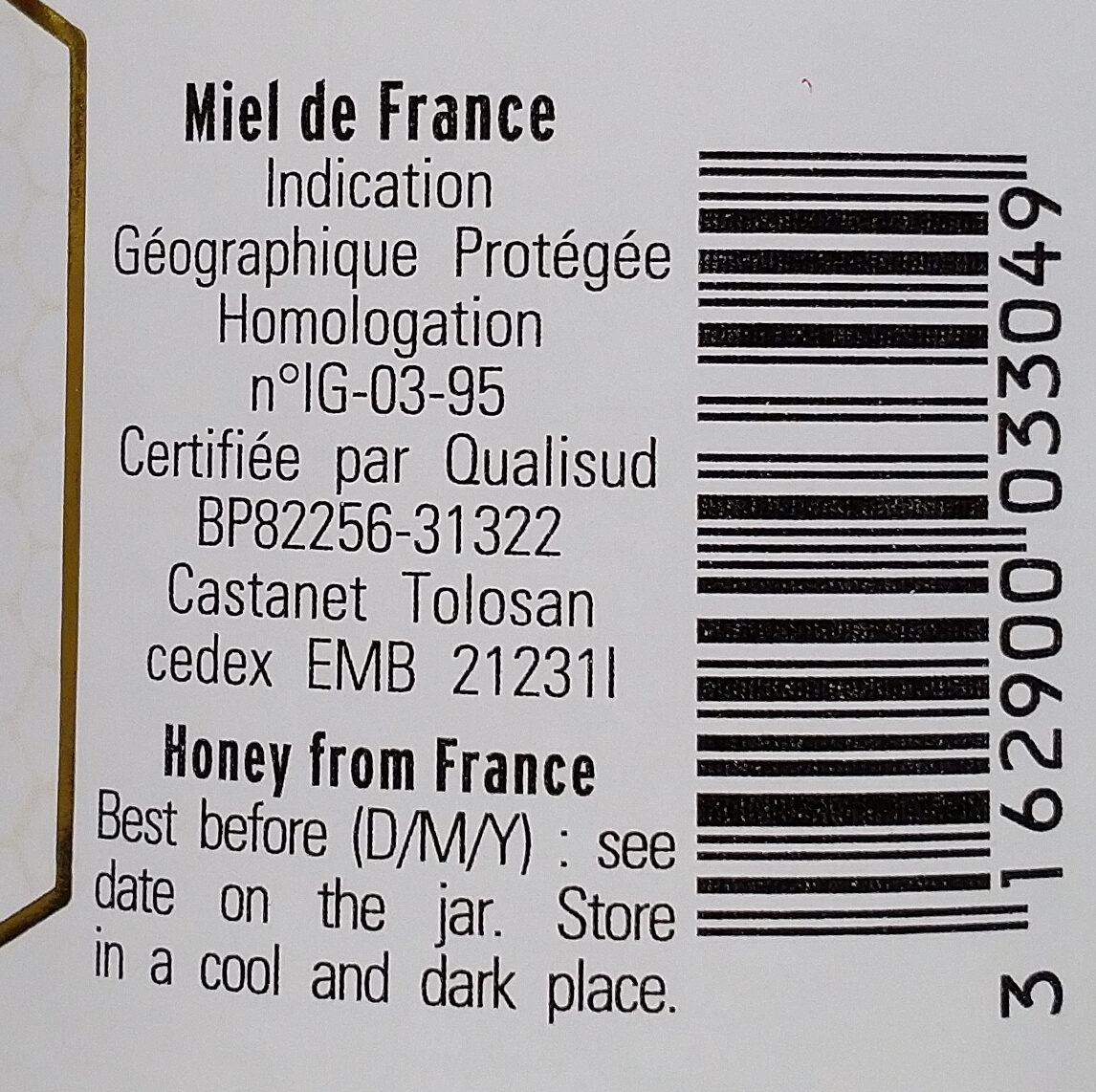 Miel de lavande de Provence - Ingrédients - fr