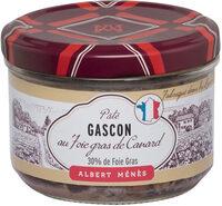 Pâté Gascon au bloc de Foie Gras de Canard - Produit - fr