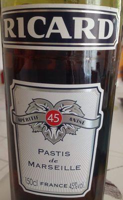 Pastis de Marseille - Produit