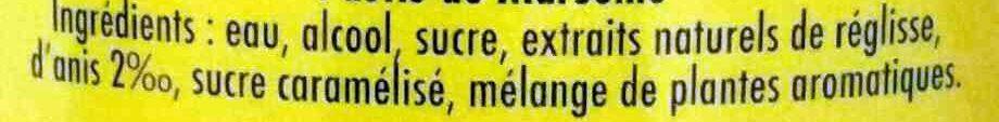 Ricard édition limitée - Ingredienti - fr