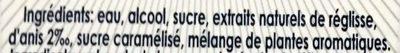 Ricard - Ingrédients - fr