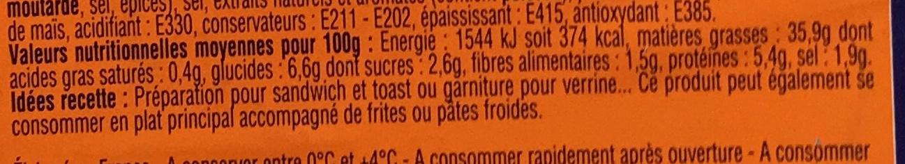Tartinable de surimi & crabe tourteau (format familial