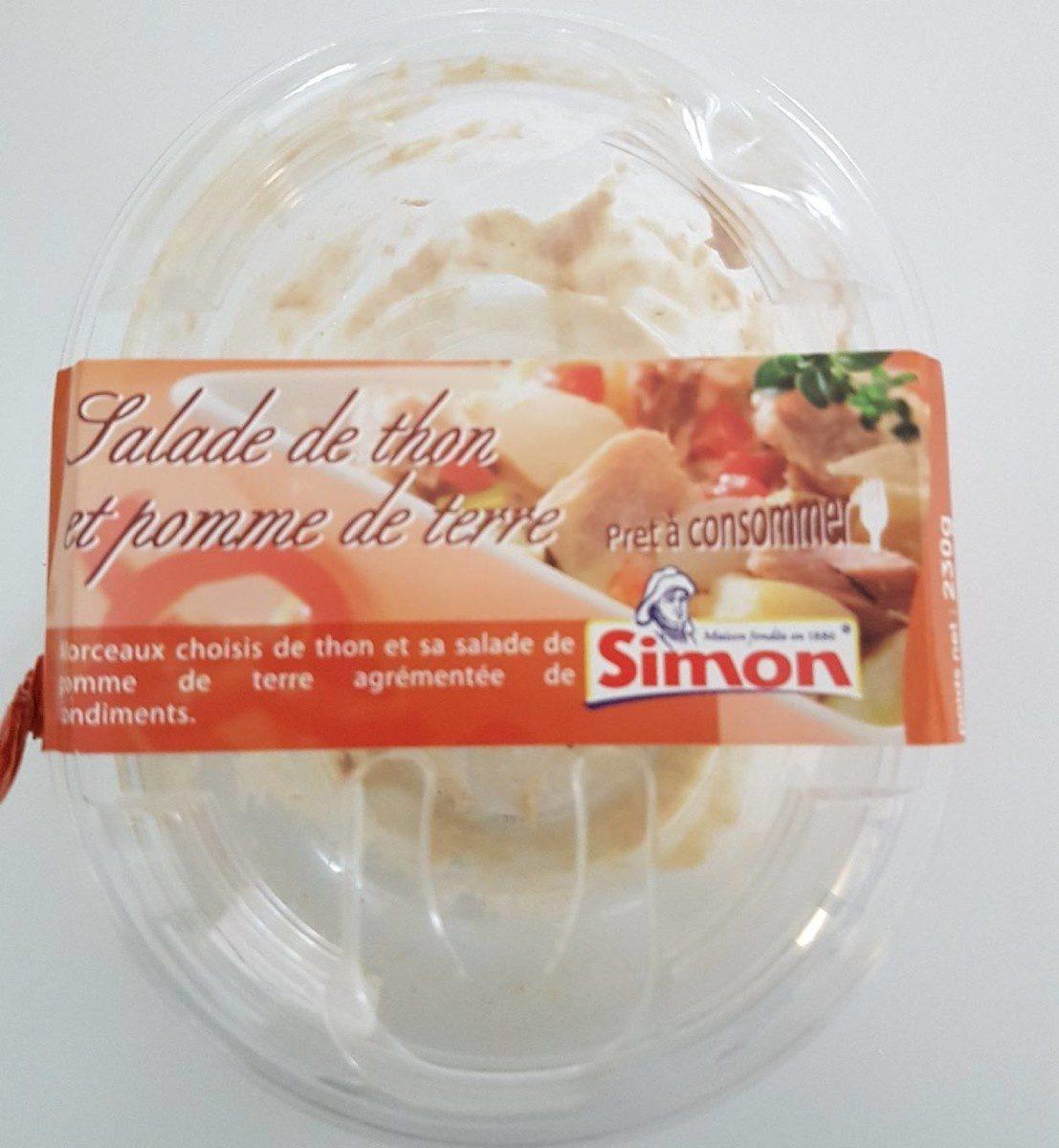 Salade de thon et pomme de terre - Product - fr