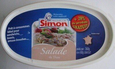 Salade de Thon (+ 20% Gratuit) - Product - fr