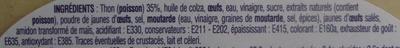 Salade de Thon (+ 20% Gratuit) - Ingredients - fr