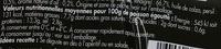 Filets de Harengs marinés ail et persil - Informations nutritionnelles - fr