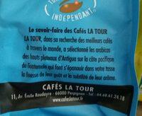 Café Guatemala Arabica certifié bio - Ingrédients