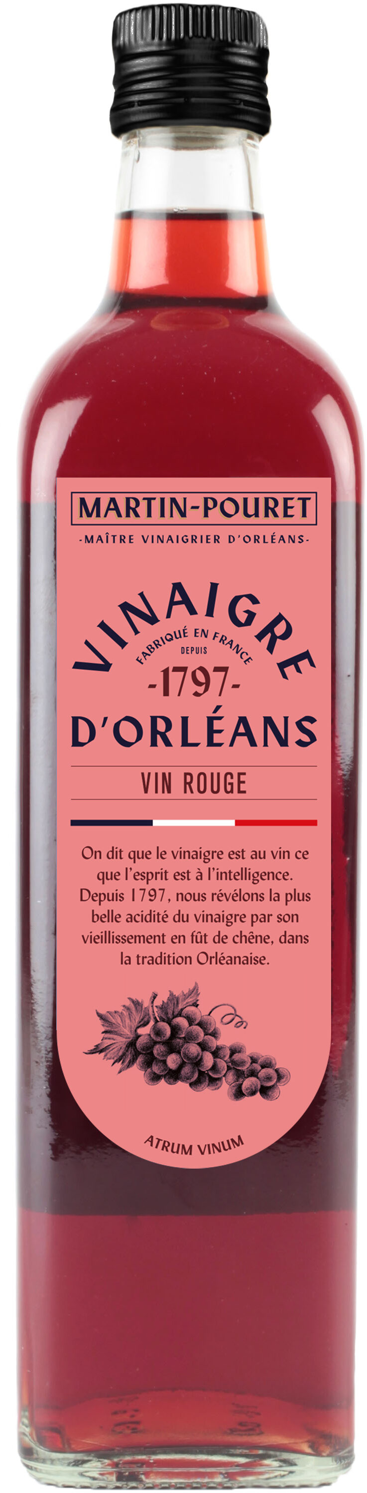 Vinaigre De Vin Rouge D'Orléans - Recycling instructions and/or packaging information - fr