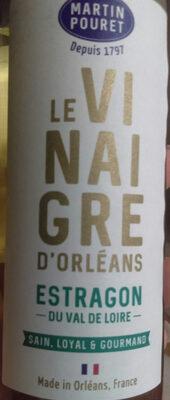 Vinaigre Vin Blanc Estragon du val de loire - Product