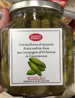 Cornichons Français extra-fins au vinaigre d'Orléans - Produit