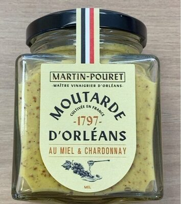Moutarde Miel & Chardonnay - Product - fr