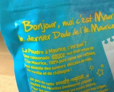 La poudre à Maurice - Ingrediënten