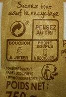 Ppk cassonade pure canne kraft - Recycling instructions and/or packaging information - fr
