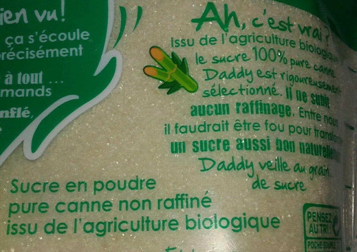 Sucre pure canne bio - Ingredients - fr
