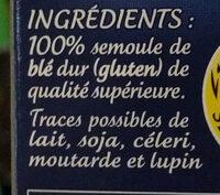 Couscous sachet cuisson - Ingredientes - fr