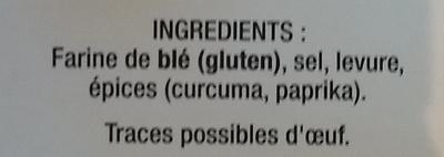 Chapelure dorée extra croustillance - Ingrédients