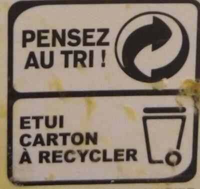Chapelure Dorée - Instruction de recyclage et/ou information d'emballage - fr