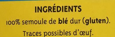 Graine Couscous moyen (+25% gratuit) - Ingrédients - fr