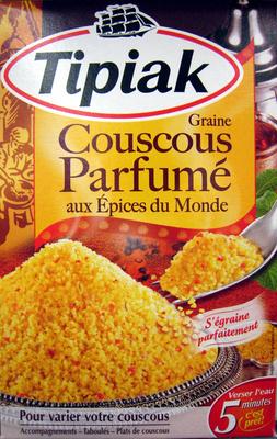 Graine de Couscous Parfumé aux Épices du Monde - Prodotto - fr