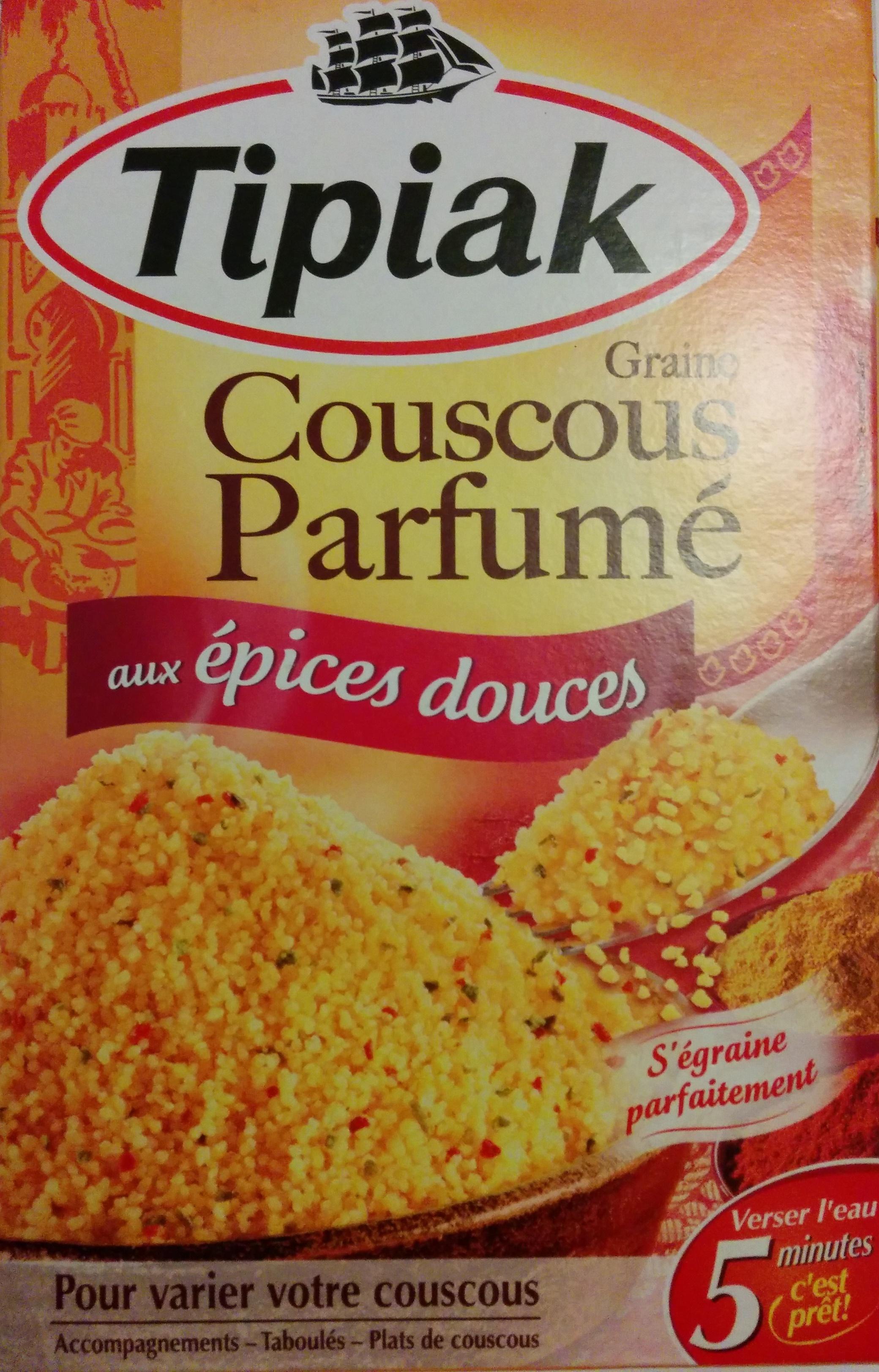 Graine Couscous Parfumé aux épices douces - Produit