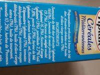Céréales Méditerranéennes avec une pointe de persillade - Ingredientes
