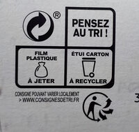 Céréales méditerranéennes - Recycling instructions and/or packaging information - fr